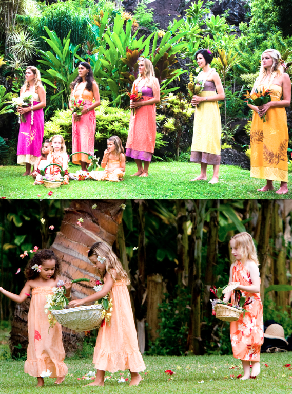 1000  images about Hawaiian bridesmaid dresses on Pinterest ...
