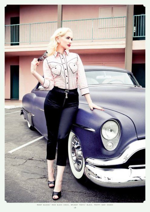 Hot Music Festival Girl | Hot Rods and Pin Up Girls Gallery 13 (6) | Sad Man's Tongue Rockabilly ...