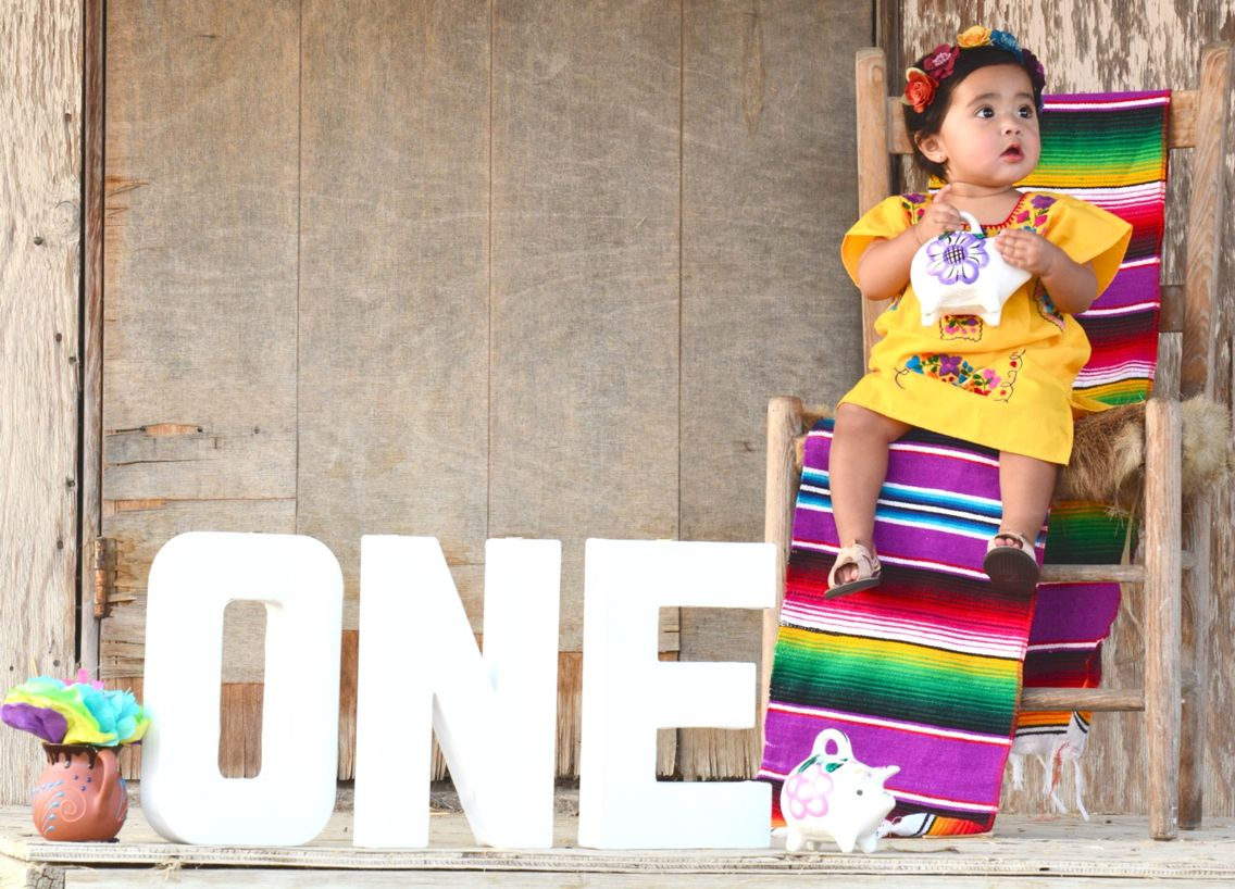 mexican fiesta for baby girl spanish culture wedding photography first birthday photos