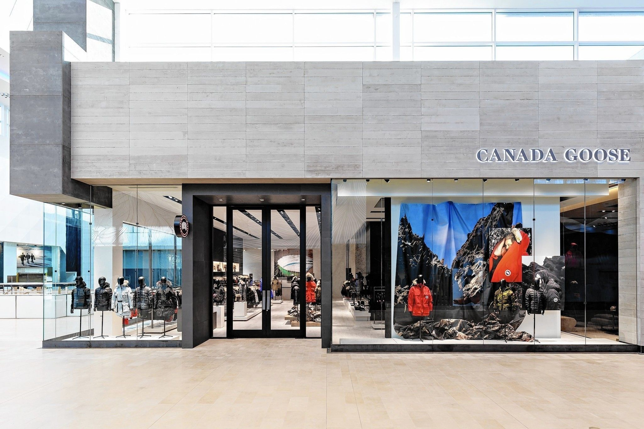 Parka Hyatt Canada Goose Plans Store In Mag Mile Hotel Shop House Plans Shop Window Design Country House Plans