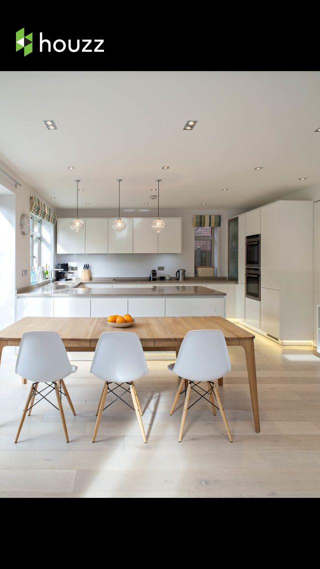 Cucina bianca stile scandinavo mansarda pinterest - Cucina arredamento moderno ...