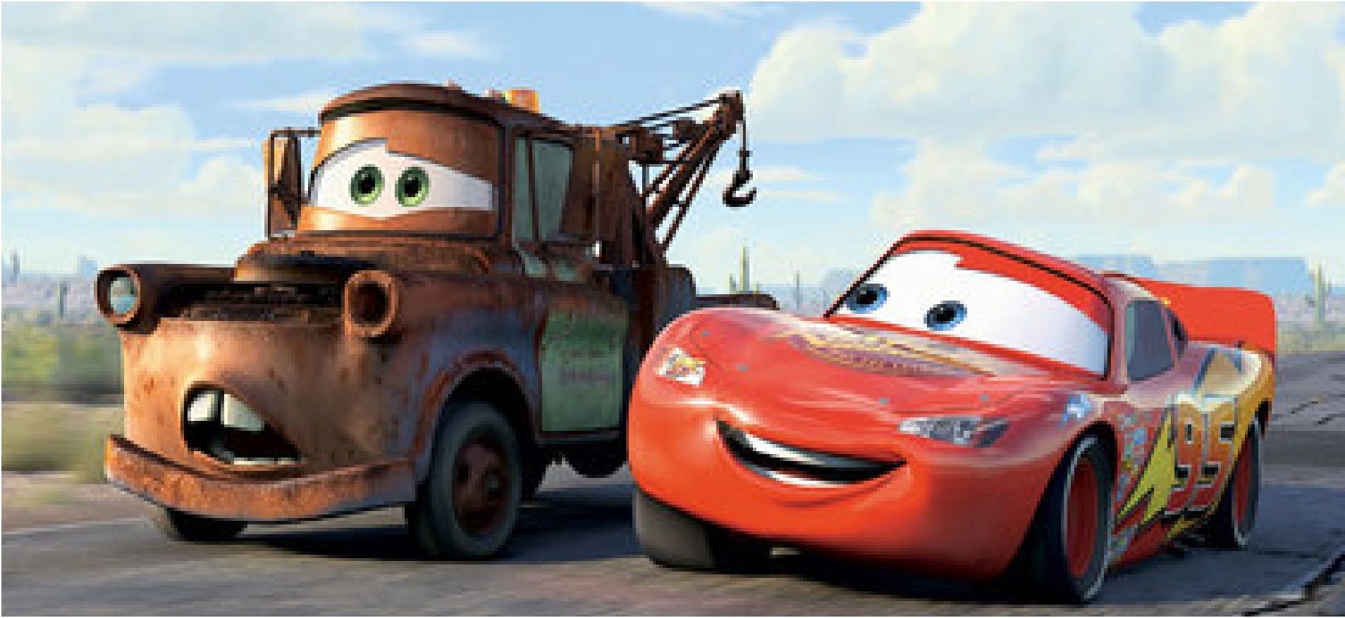cars mater and lightning mc queen
