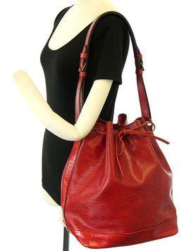 fcbadafa84d6 Louis Vuitton Epi Noe Drawstring Bucket Gm Shoulder Bag. Get one of the  hottest styles of the season! The Louis Vuitton Epi Noe Drawstring Bucket Gm  ...
