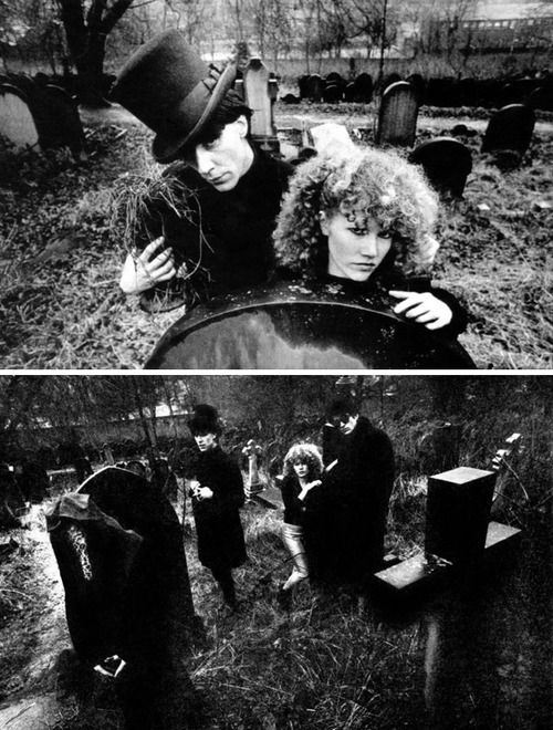The Cramps at the Brompton Cemetery, west London, photos by...