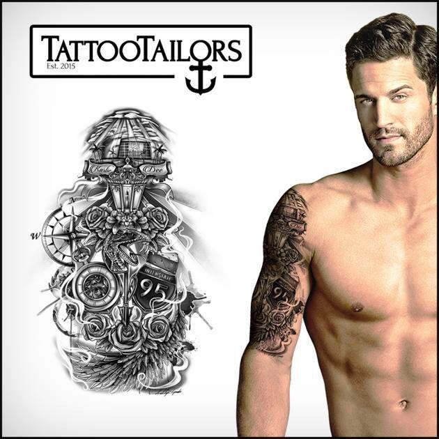 Buy Yourself Custom Tattoo Designs At Www Tattootailors Com We Custom Design You A Tattoo Where Ever You Are In The World Tatuagem Braco Tatuagem Tatuagens