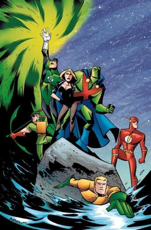 Justice League - Michael Avon Oeming, Colors: Tom Smith
