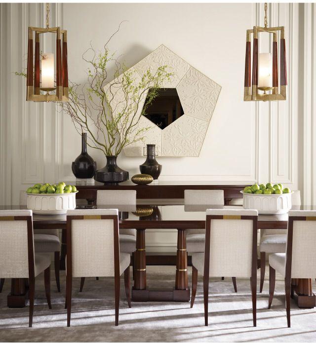 Sheffield Furniture Interiors Pa Md Va Bakerfurniture Thomas Pheasant Divine Dining