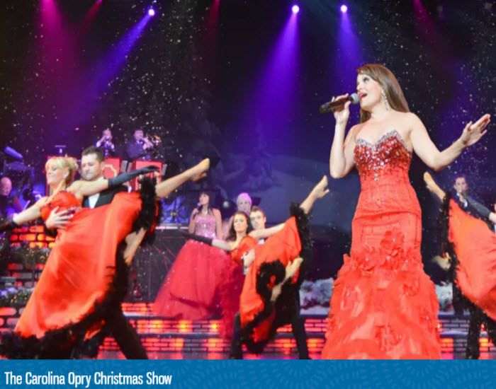 come relax unwind and get into the holiday spirit at the carolina opry christmas show in myrtle beach south carolina click on the pin when you are