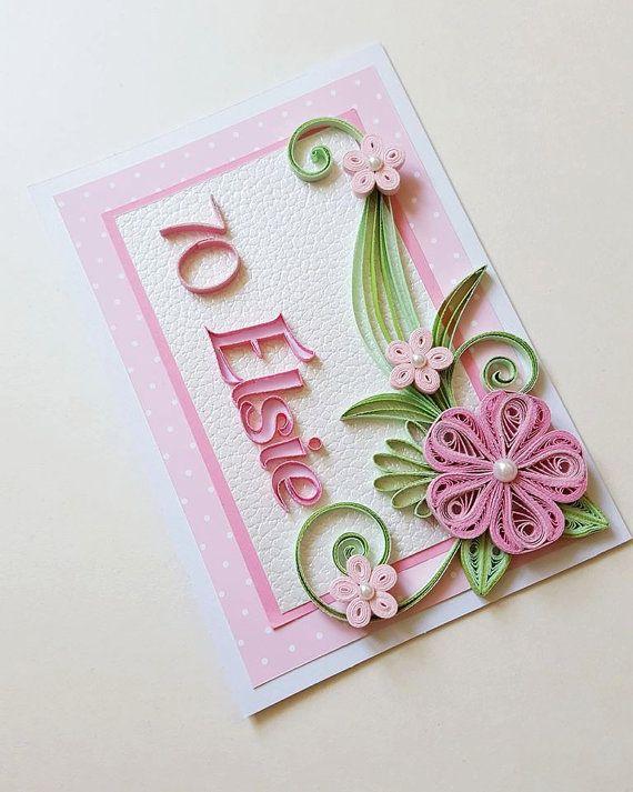 Personalised Birthday Card Happy Birthday Card 70th Birthday Card