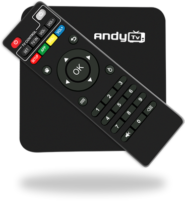 If you guidance for any Andy TV box then we are 24*7 at your