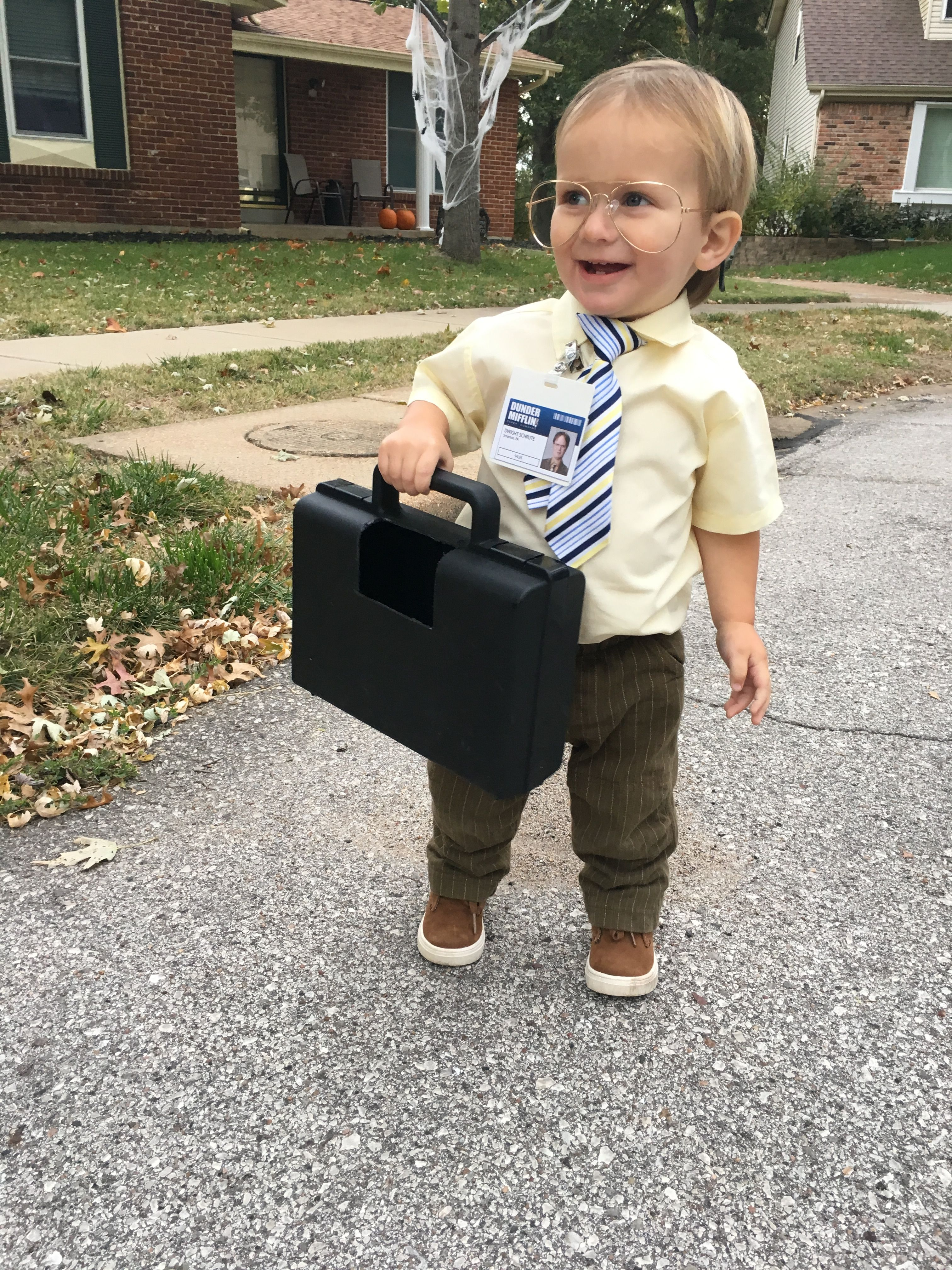 dwight schrute kids costume, the office, halloween costume ideas