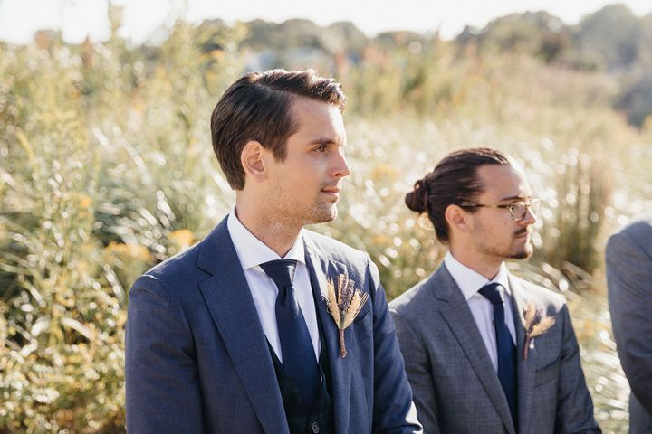 Groom style | fabmood.com #wedding #backyardwedding #fallwedding #sunflowerthemed