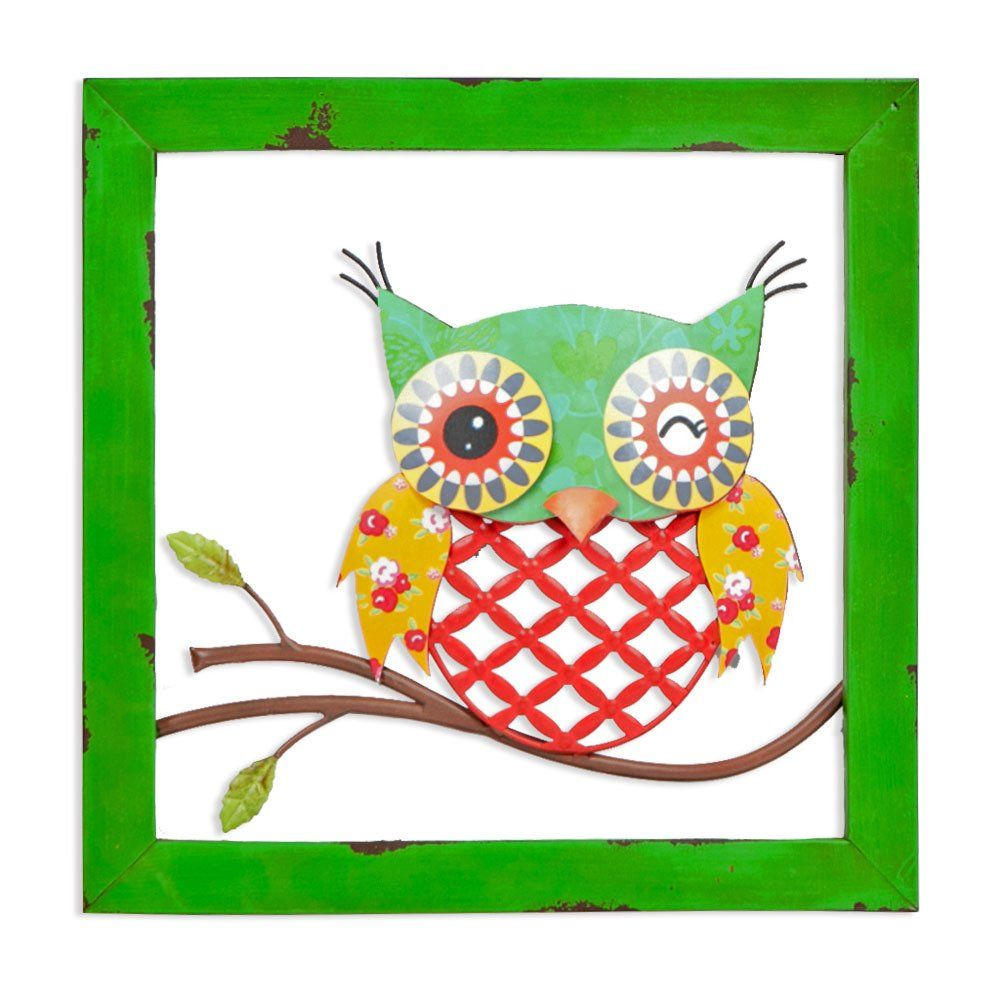 Xing cheng home wall decoration wall art beautiful owl metal wall xing cheng home wall decoration wall art beautiful owl metal wall decor light weight amipublicfo Gallery
