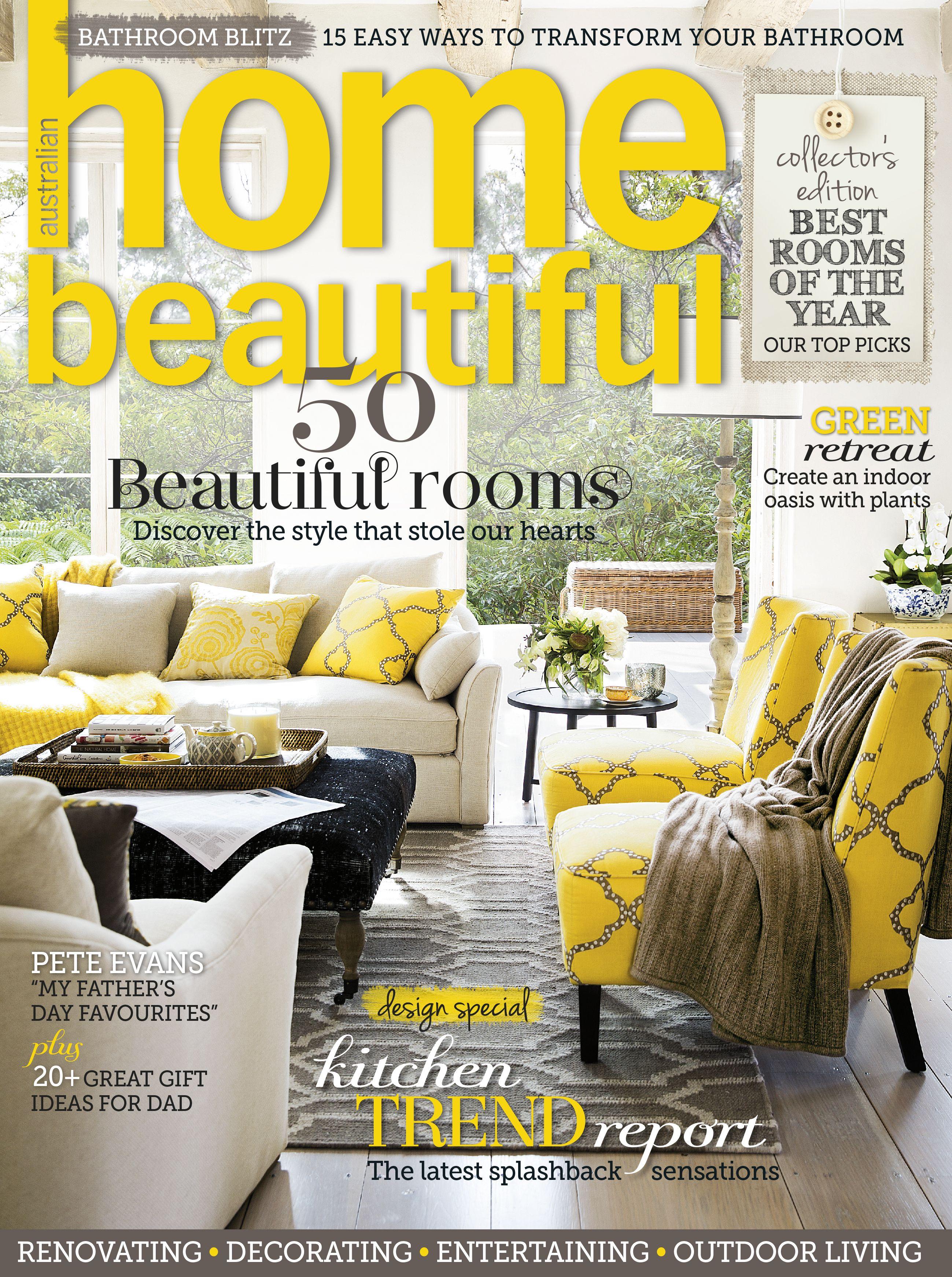 Home Beautiful September 2013 House, home magazine, Home