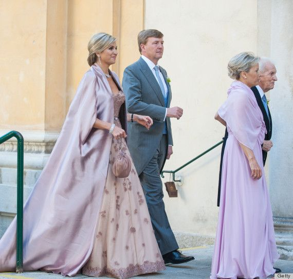 Queen Maxima Is The Belle Of The Ball At Her Brothers Wedding