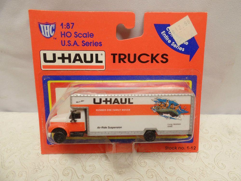 Ho Scale Ihc Idaho U Haul Moving Truck Moving Truck Ho Scale Trucks