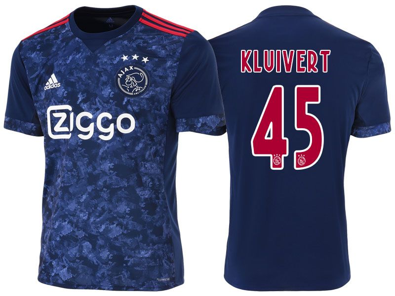 35ddd68b Ajax Jersey justin kluivert 17-18 Away Shirt | cheap Ajax soccer ...