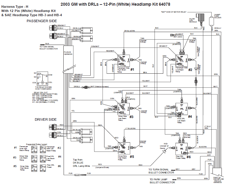 wiring diagram for western snow plo  snow plow diagram