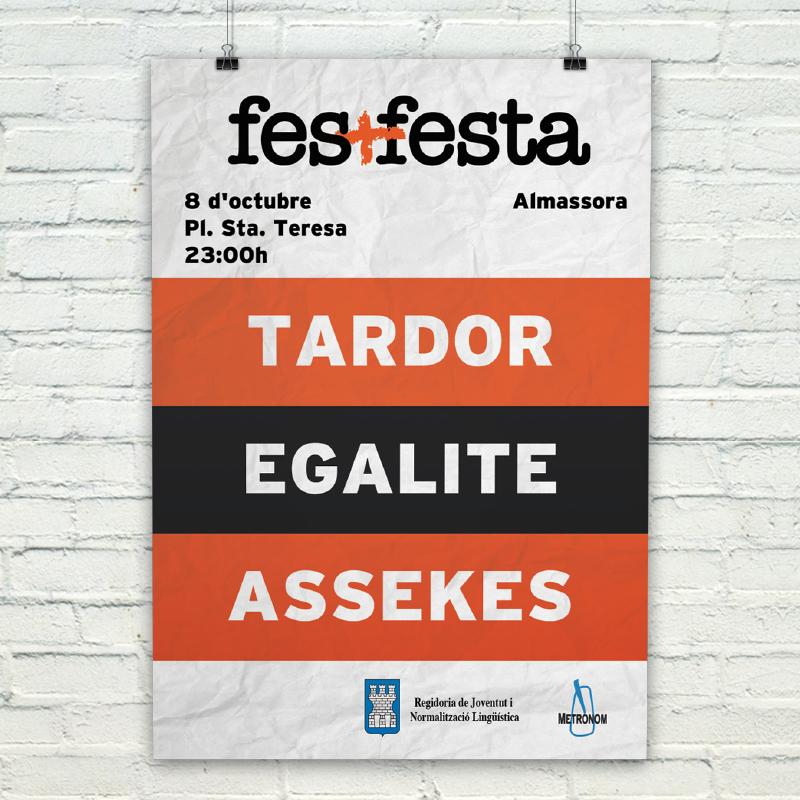 fes + festa - Almassora.  info dalt