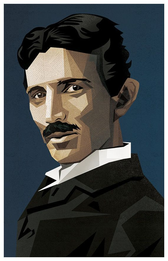 Nikola Tesla 11x17 Poster Fine Art Print Nikola Tesla Tesla Fine Arts Posters