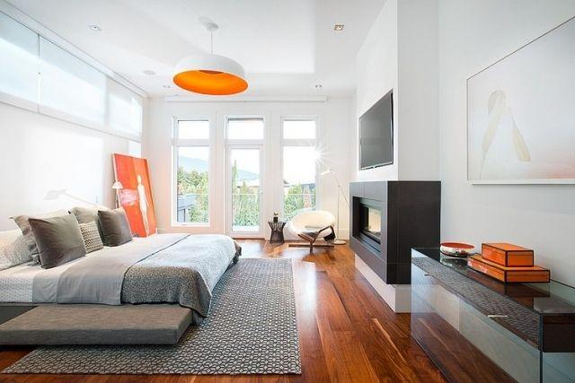 Chambre à coucher contemporaine – 55 designs élégants