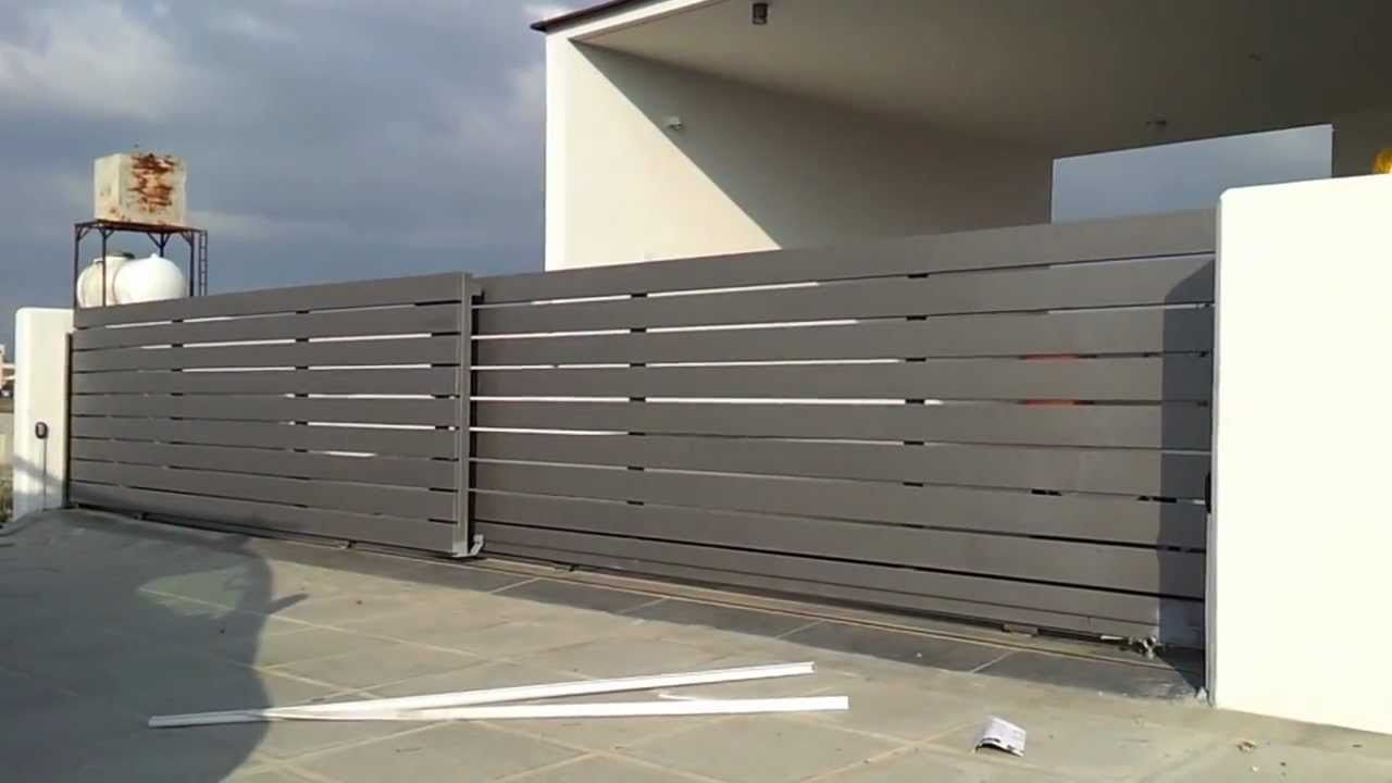 Telescopic Sliding Gate Motor Playlist Gate Design