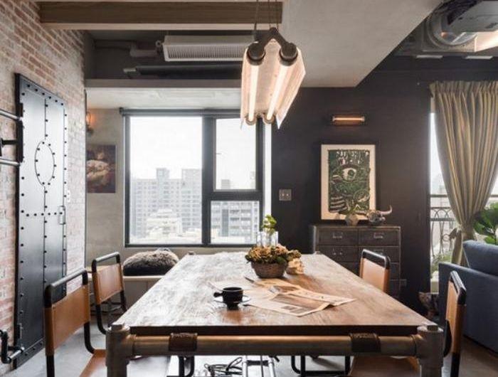 Voici la salle à manger contemporaine en 62 photos! | Table ...
