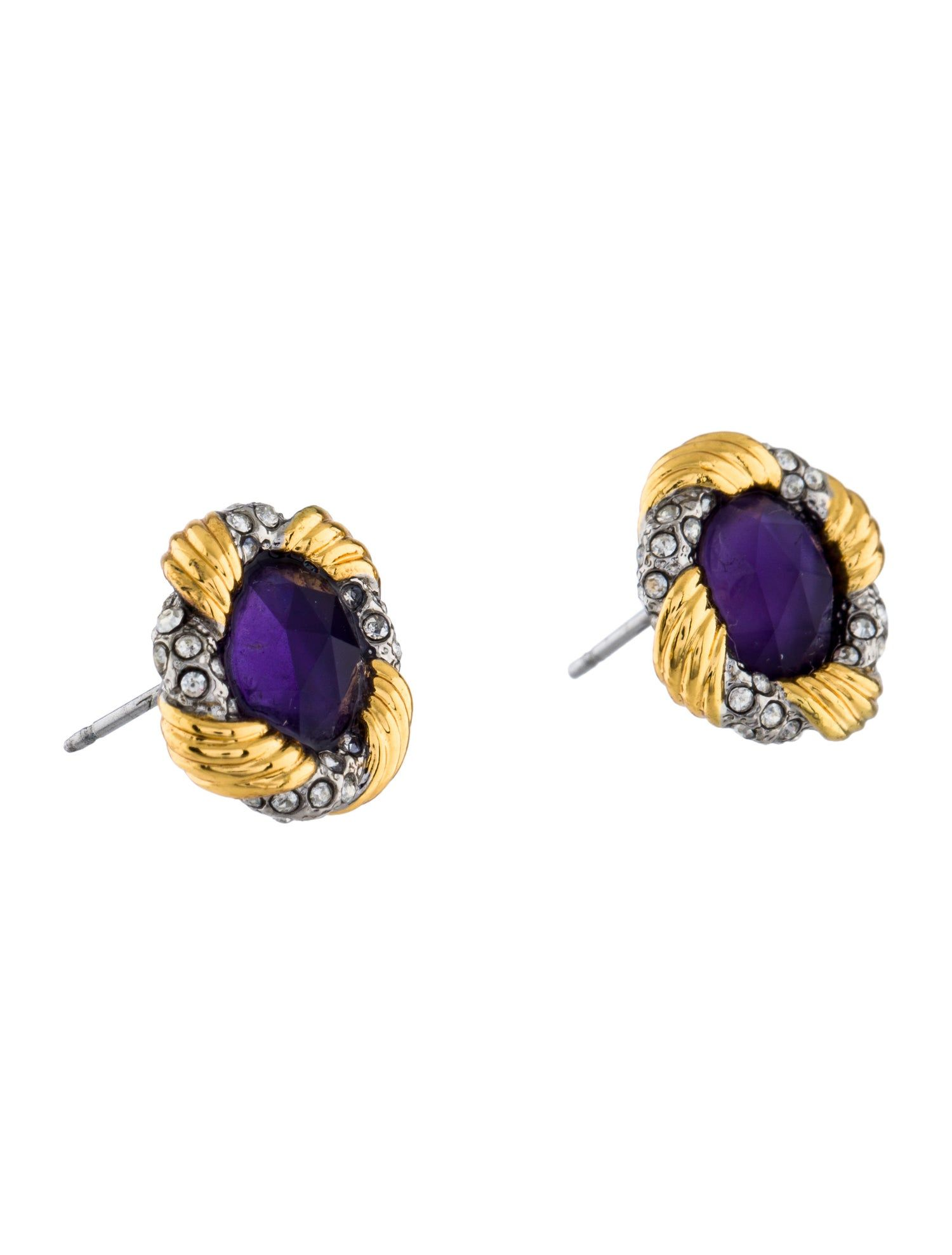 Alexis Bittar Crystal Stud Earrings Sponsored Bittar Alexis