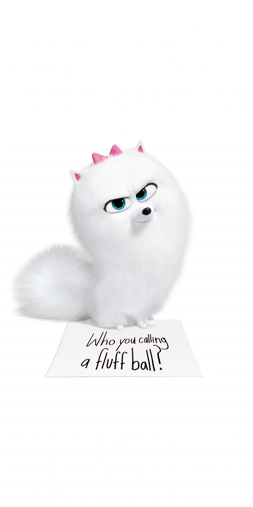 The Secret Life Of Pets 2 Gidget Cute Dog 2019 1080x2160 Wallpaper Cute Dog Cartoon Secret Life Of Pets Pets Movie
