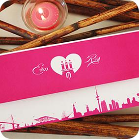 Einladungskarte Hamburg, Maritime Einladung Für Hochzeit, Individuell  Designed By Die Kartenfrau