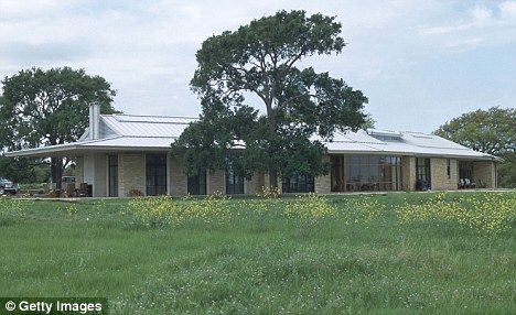 So Much For The Quiet Life George W Bush Rakes In Staggering 15million On Speaking Circuit Ranch House Prairie Chapel Ranch Home And Garden
