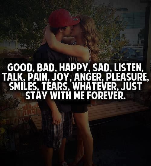 Just Stay With Me Forever If I Stay Love Me Quotes Thank You For Loving Me