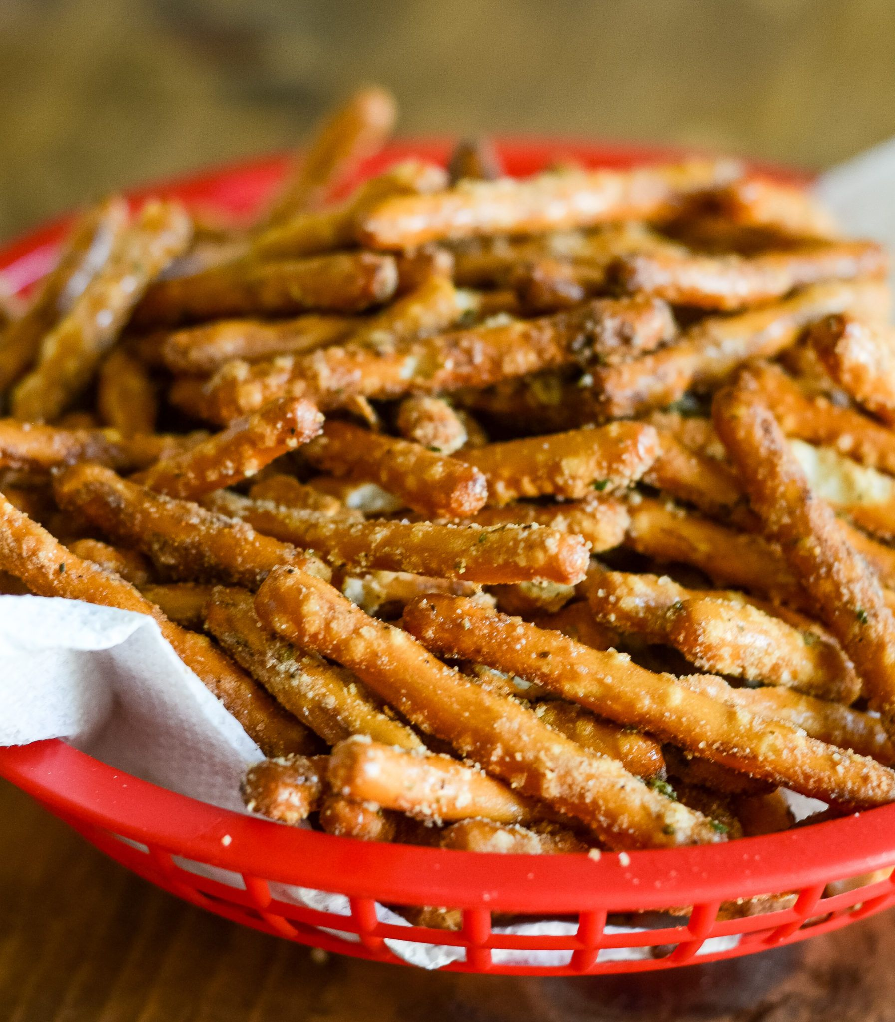 Air Fryer Seasoned Pretzels (GlutenFree) Recipe