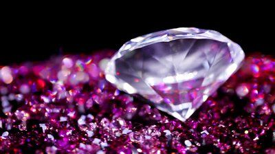 Pink Diamonds Twitter Background
