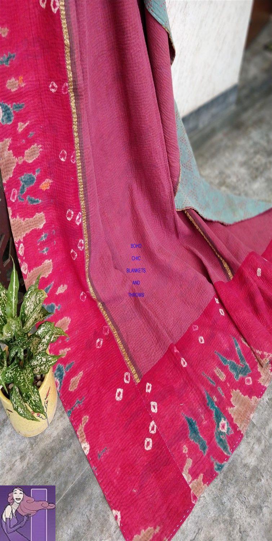 Bohemian Duvet Covers Kantha Quilt Boho Blanket Duvet Covers Bohemian