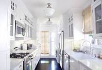 6 Brilliant Space-Making Solutions for Galley Kitchens