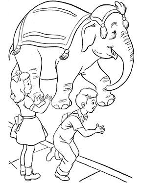 Ausmalbild Zirkus Elefant Ausmalen Elefant Ausmalbild Ausmalbild