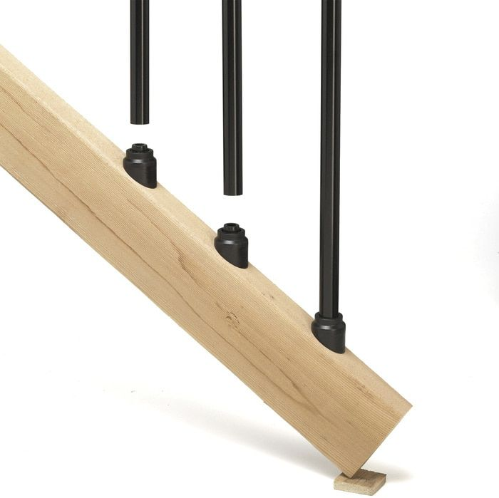 Best Stair Connectors For Round Balusters By Deckorators 400 x 300
