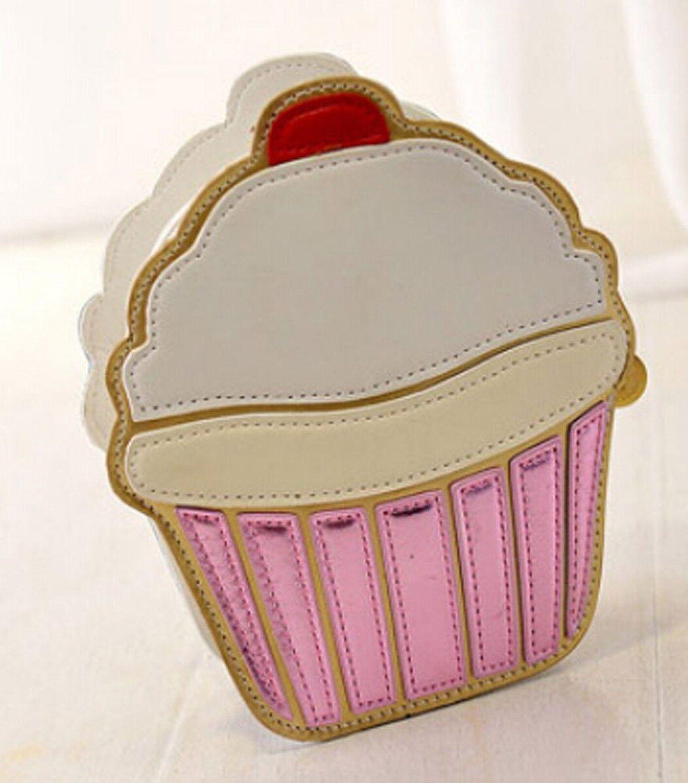 8e89faf1b45f7 Buenocn 2015 Summer Ice Cream Cake Pattern Women Pu Leather Clutch Purse  Cross Body Bag Shy743 (cake)  Handbags  Amazon.com