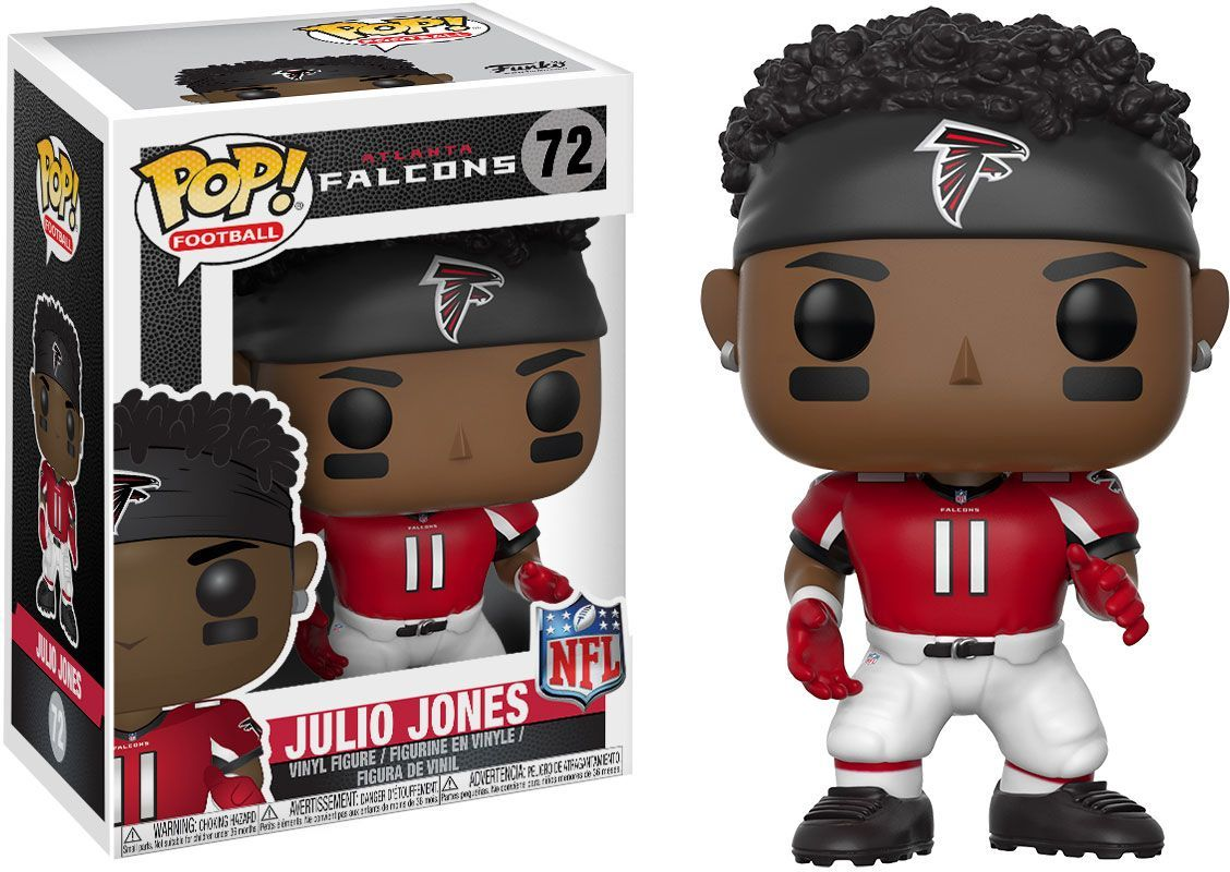 Funko Pop Atlanta Julio Jones Figure In 2020 Julio Jones Atlanta Falcons Vinyl Julio Jones Falcons
