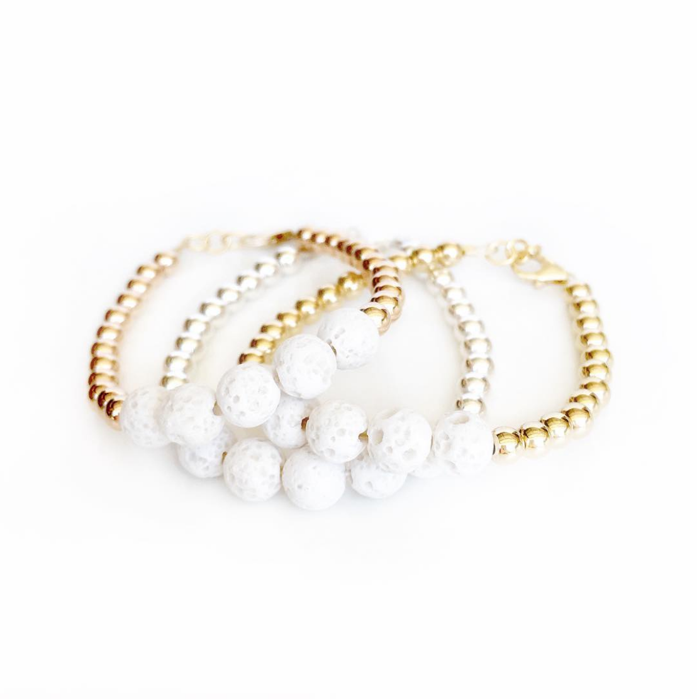 Poppy lane and co handmade baby bracelets baby bracelets