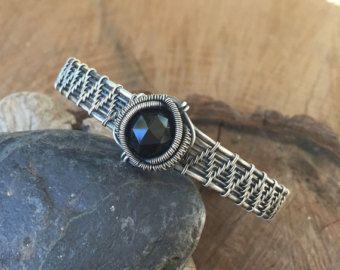 Wire Wrap Wire-Wrap-Armband Opal Armband von SweetWaterSilver ...