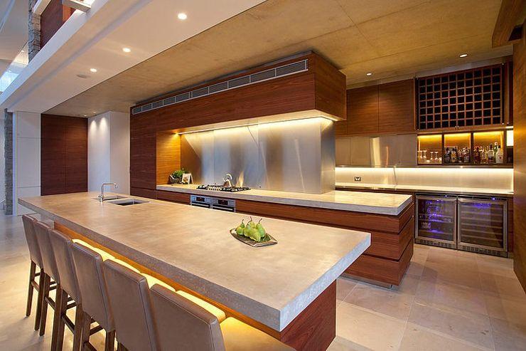 Maison moderne australienne pour une famille moderne for Belles cuisines contemporaines