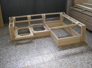 Esqueleto sofa en l furniture pinterest sof for Planos de sillones