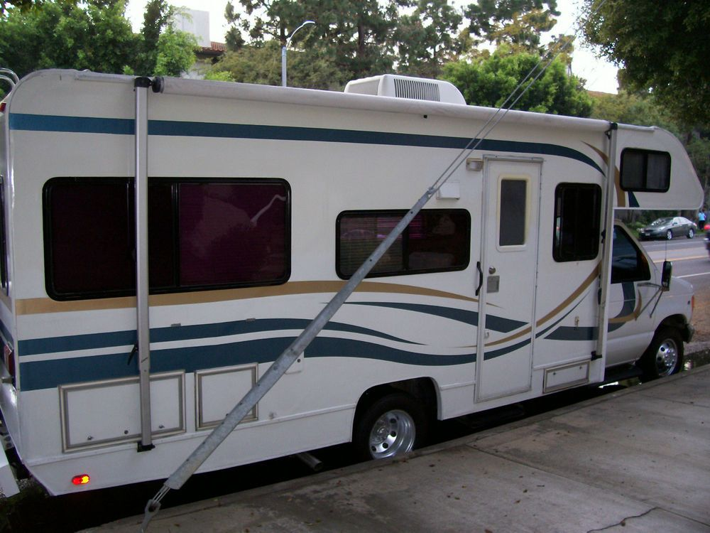 1999 Tioga 24D REAR BED MODEL CLASS C B RV MOTORHOME FORD