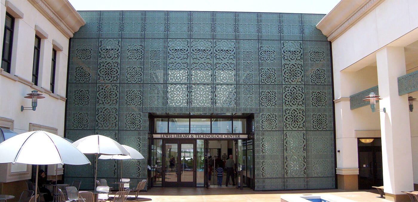 Custom Architectural Metal Wall Panels : Our laser cut metal panel applications include