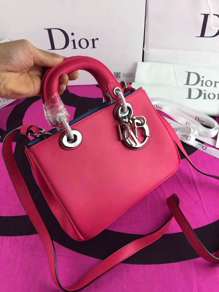 Dior Diorissimo Small Bag in Rosy  5a3539253c02f