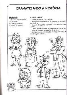 Historia E Atividades Da Chapeuzinho Vermelho Com Imagens