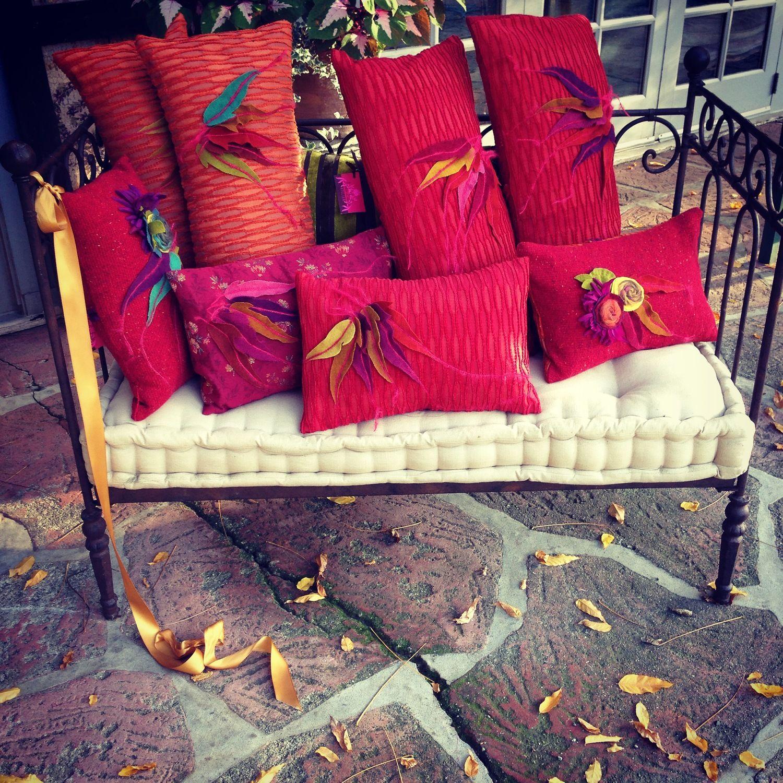 AIDA Dalati bohemian leaf pillows 2014 collection