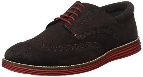 Magnus - Zapatos de cordones de Material Sintético para hombre, color gris, talla 42